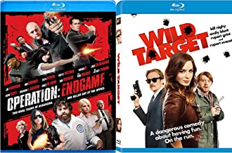 Wild Target Blu-ray + Operation: Endgame [Blu-ray] Fun Action Comedy movie Set Combo Edition