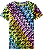 Gucci Kids - Tiger Print T-Shirt (Little Kids/Big Kids)