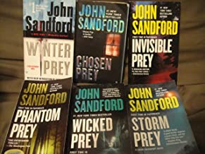 John Sandford 6 Book Set (Lucas Davenport Prey Series: Winter Prey+Chosen Prey+Invisible Prey+Phantom Prey+Wicked Prey+Sto...