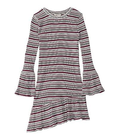 HABITUAL girl Blaire Stripe Ruffle Dress (Big Kids) (Multi) Girl