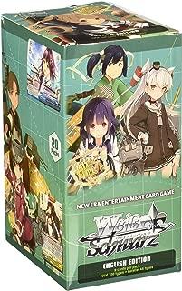 Weiss Schwarz Kan Colle Kancolle Kantai 2ND Fleet (Volume 2) English Booster Box - 20 Packs / 8 Cards