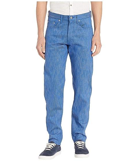Naked & Famous Easy Guy Blue Storm Slub Jeans