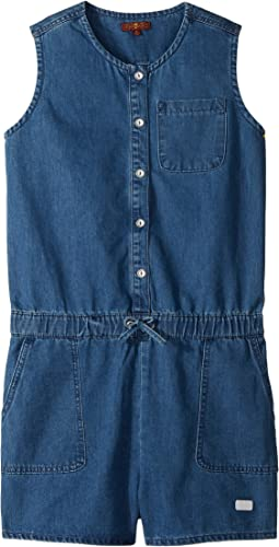 7 For All Mankind Kids - Romper (Big Kids)