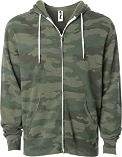camouflage zip up hoodie womens