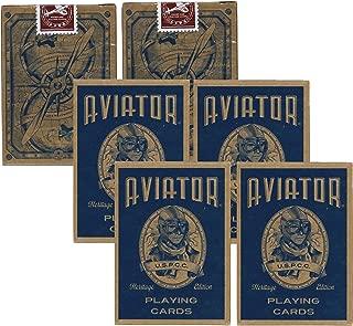 Aviator Heritage Edition Poker Use Playing Cards, 6 Decks
