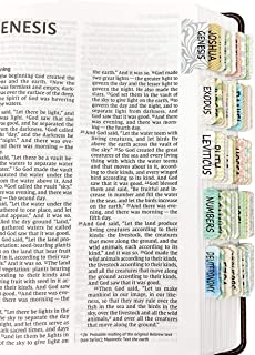 Mr. Pen- Bible Tabs, 75 Tabs, Laminated, Bible Journaling Supplies, Bible Tabs Old and New Testament, Bible Tabs for Wome...