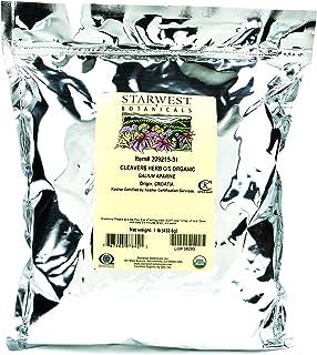 Starwest Botanicals Organic Cleavers Herb C/S, 1 Pound