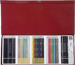 مجموعة أقلام رصاص ستوديو 71 ارتيست من داريس 30061951 - 50 قطعة
