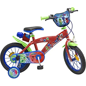 TOIMS pijmask Bicicleta niño, Pijmask, Rojo: Amazon.es: Deportes y ...
