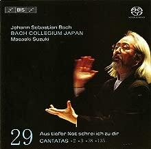 Bach, J.S.: Cantatas, Vol. 29 - Bwv 2, 3, 38, 135