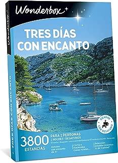WONDERBOX Caja Tres DÍAS con Encanto- 3.800 estancias Rurales para Dos Personas
