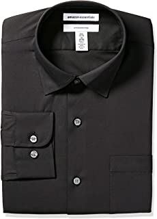Amazon Essentials Men's Slim-fit Wrinkle-Resistant Stretch Dress Shirt