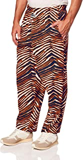 Zubaz Men's Standard Classic Zebra Printed Athletic Lounge Pants