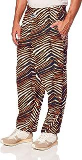 Zubaz Men`s Classic Zebra Printed Athletic Lounge Pants