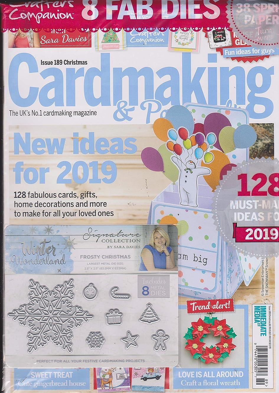 Cardmaking & Papercraft Magazine Issue 189 Christmas