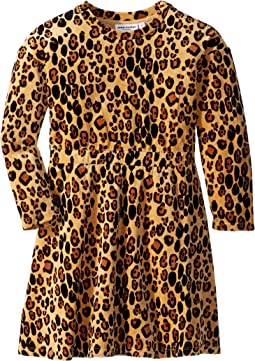 Leopard Velour Dress (Infant/Toddler/Little Kids/Big Kids)