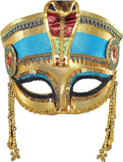 AMSCAN Egyptian Masquerade Mask Halloween Costume Accessories, One Size
