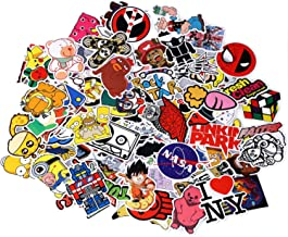 Secret Garden Love Sticker Pack 100-Pcs Sticker Decals Vinyls for Laptop,Kids,Cars,Motorcycle,Bicycle,Skateboard Luggage,Bumper Stickers Hippie Decals Bomb Waterproof