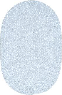 Confetti Sample Swatch Area Rug, Sky Blue