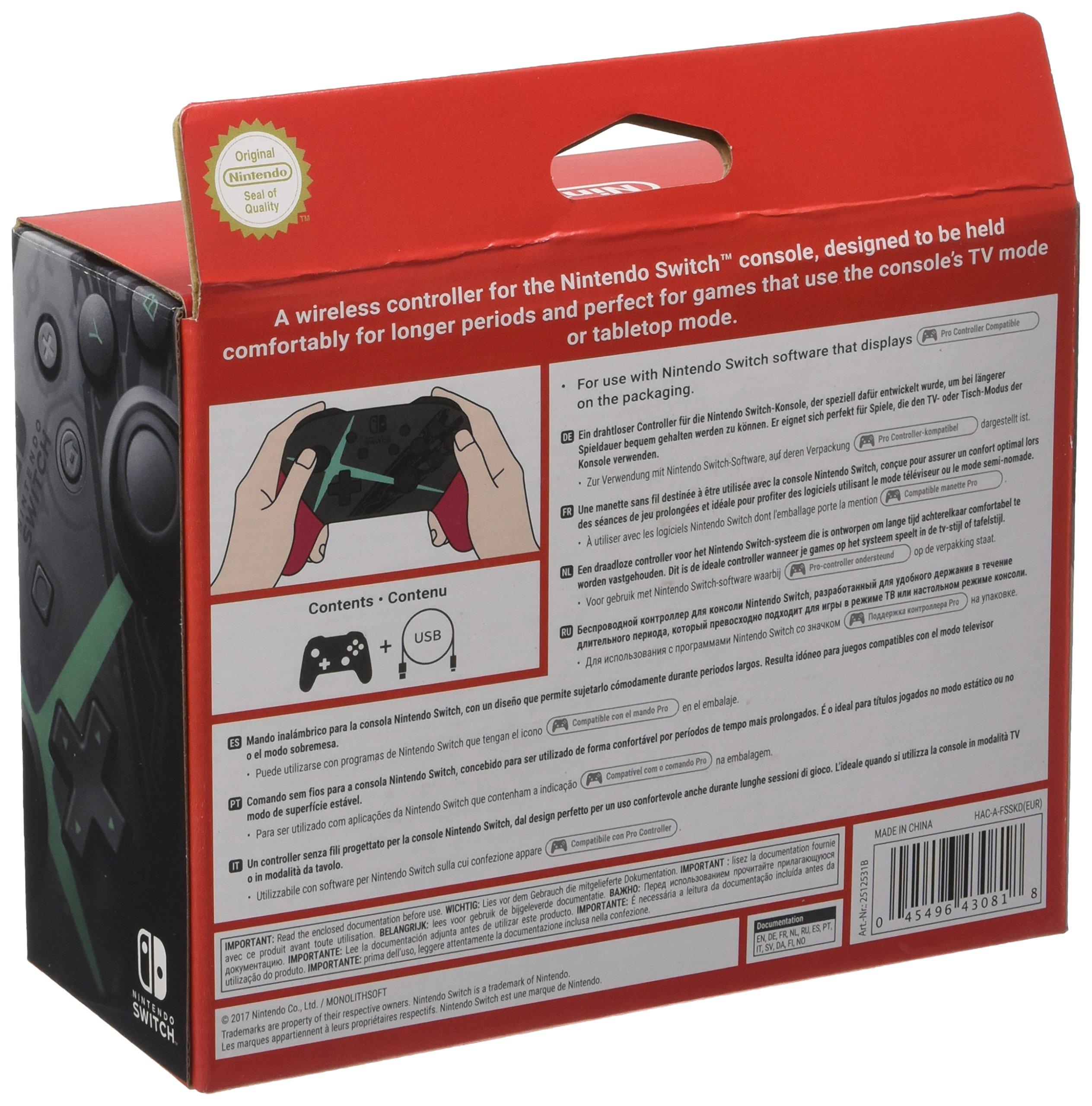 Nintendo - Pro-Controller Xenoblade Edition + Cable USB (Nintendo Switch): Amazon.es: Videojuegos