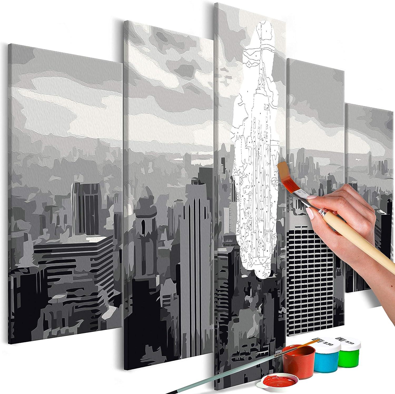 Murando Malen Nach Zahlen New York 100x50cm 5 5 5 Tlg Malset Diy