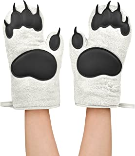 Fred POLAR BEAR HANDS Oven Mitts, Set of 2