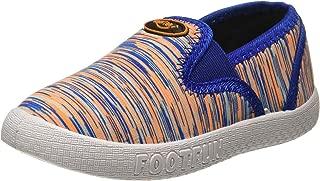 Footfun (from Liberty) Boy's Orange Moccasins - 6 Kids UK/India (23 EU)(8152013122230)