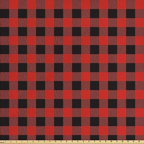 Plaid Upholstery Fabric Amazon Com