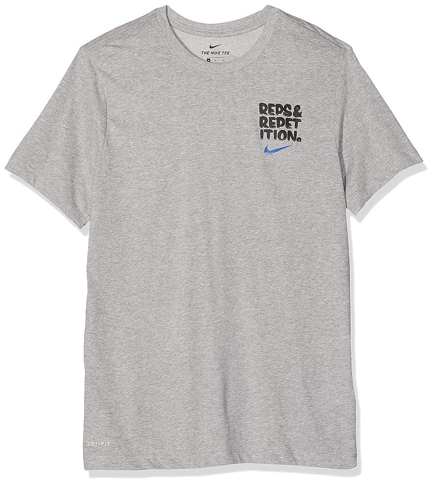 軍隊辛な更新Nike メンズ Rep & Repetion フィットネス ワークアウト プルオーバートップ