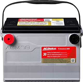 ac delco battery life