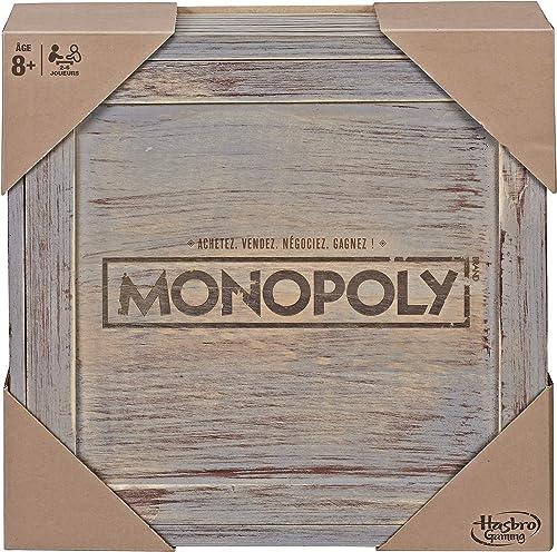 Monopoly Edition Vintage, jeu de société Hasbro Gaming, version française