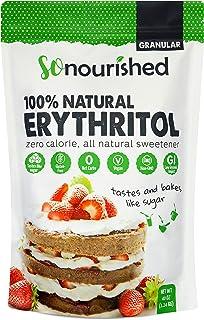 Erythritol Sweetener Granular - 1:1 Sugar Substitute, Keto - 0 Calorie, 0 Net Carb, Non-GMO