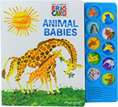 World of Eric Carle, Animal Babies 10-Button Sound Book - PI Kids (The World of Eric Carle: Play-a-Sound)