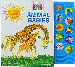World of Eric Carle, Animal Babies 10-Button Sound Book - PI Kids