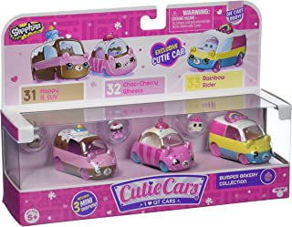 Shopkins Cutie Cars Series 1 Bumper Bakery 3 Pack