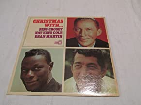 CHRISTMAS WITH... BING CROSBY NAT KING COLE DEAN MARTIN