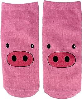 Pig Socks For Women Men Girls Crew Cute Funny Athletic Sock