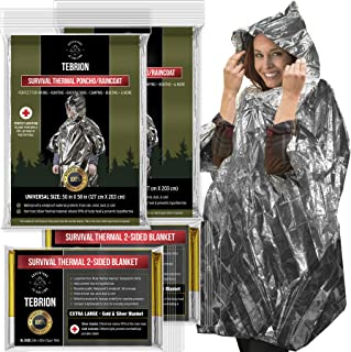 space blanket poncho