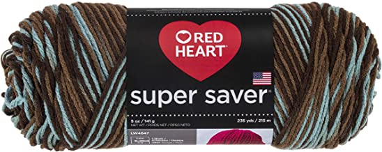Red Heart Super Saver Yarn, Earth and Sky