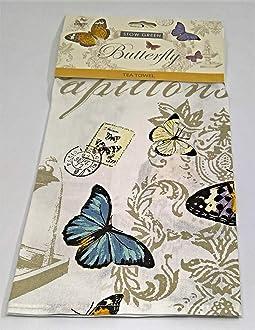 Stow Green un Papillon Coton Torchon