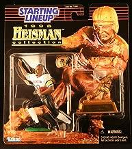 RASHAAN SALAAM / UNIVERSITY OF COLORADO BUFFALOES 1998 NCAA College Football HEISMAN COLLECTION Starting Lineup Action Figure, Football Helmet & Miniature 1994 Heisman Memorial Trophy