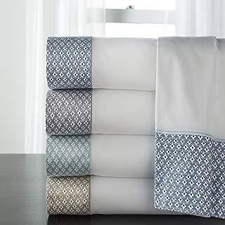 Elite Home Products Adara Sheet Set Spa Queen