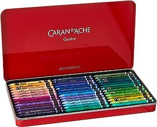Caran D'Ache Boîte métal 84 pastels à la cire aquarellables Neocolor II