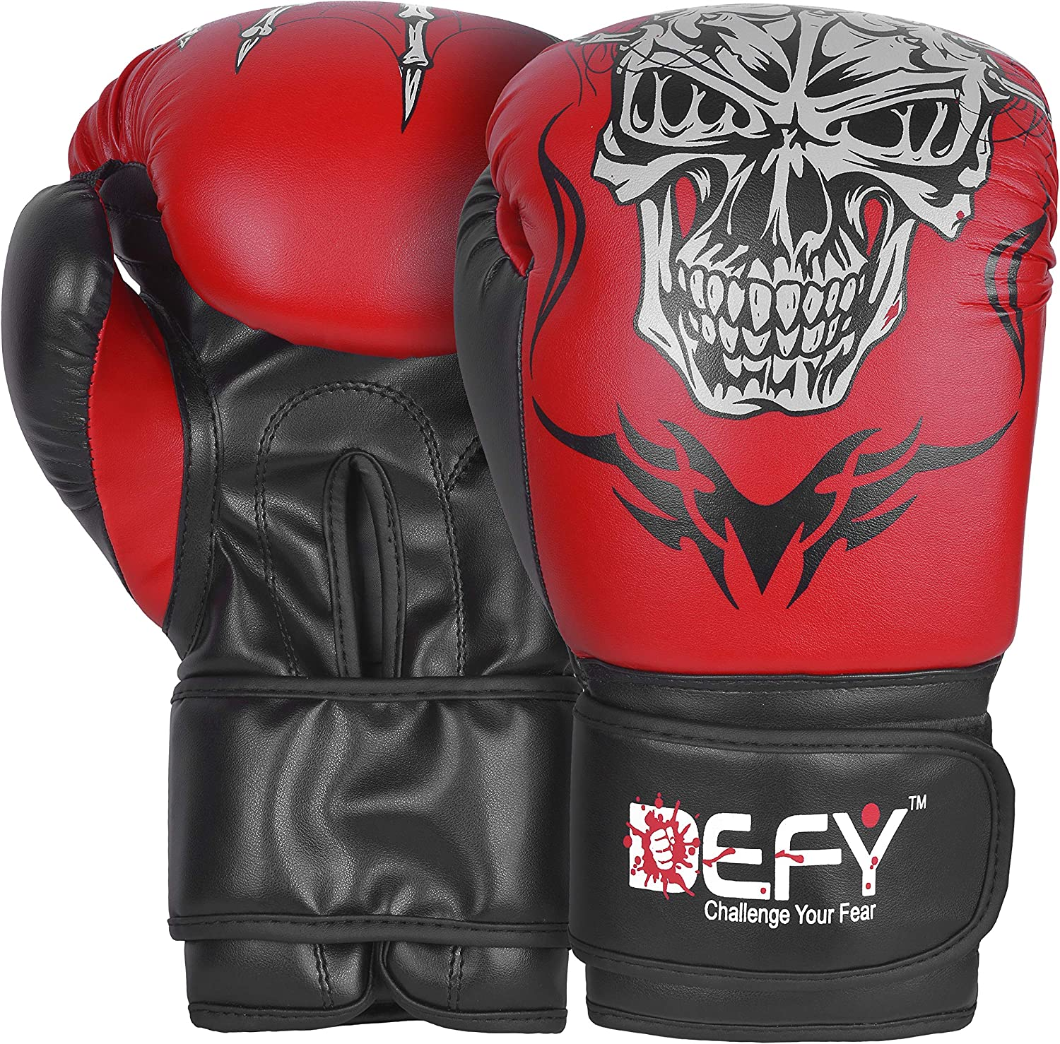DEFY Boxing Gloves for Training MMA Muay Thai Premium Quality In a popularity Safety and trust Gu