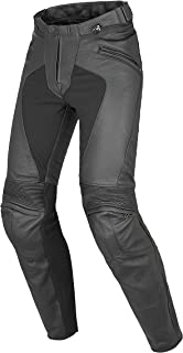 Dainese Pony C2 Perforated Womens Leather Motorcycle Pants Black 40 Euro