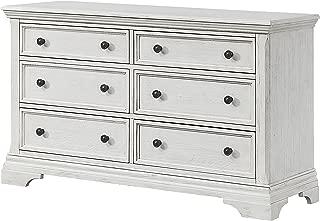 Westwood Design Olivia Double Dresser, Brushed White