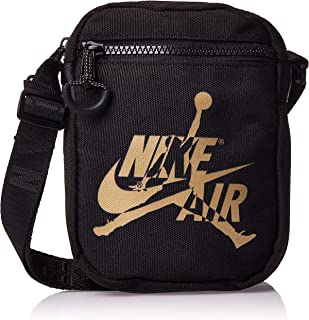Nike Unisex-Child Jan Jumpman Classic Festival Messenger Bag, Black (Gold) - NK9A0314-429