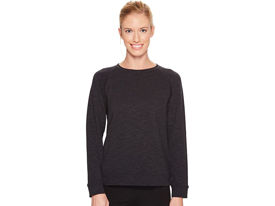 Under Armour Plush Terry Crew (Black) Women