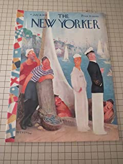 July 31,1937 The New Yorker Magazine: Peter Arno - John O'Hara - Clarence Day - Emily Hahn - Profiles: W. Starling Burgess (Yacht Designer) - A. J. Liebling - The Tennis Courts:Donald Budge - Current Cinema: