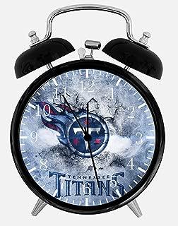 Titans Alarm Desk Clock 3.75